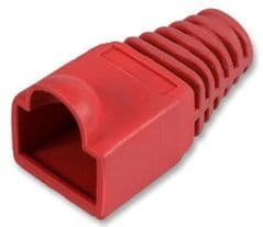 PRO POWER SH001 6.5 RED 50  Strain Relief 6.5Mm Red 50/Pk